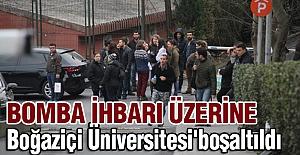 Bomba İhbarı Üzerine Boğaziçi Üniversitesi Boşaltıldı