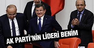 Davutoğlu: AK Parti'nin Yeni Lideri Benim