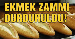 Ekmek Zammında Geri Adım!