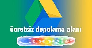 Google Drive'da ücretsiz depolama alanı