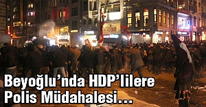 HDP'li gruba polis müdahalesi...