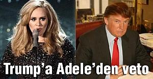 İslam Düşmanı Trump'a Adele'den Veto