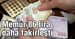 Kamu-Sen Açıkladı: Memurlar  86 lira daha fakirleşti