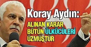 Koray Aydın'dan 'Muhaliflere' destek veren teşkilatların kapanmasına tepki!