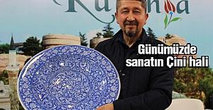 Rıdvan Şükür; Günümüzde Sanatın Çini hali Kütahya'da yaşıyor.