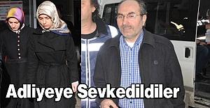 Samsun'da Gözaltına Alınan 8 Kişi Adliyede