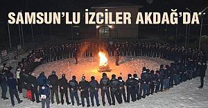 Samsunlu izciler Akdağ'da kampa çekildi