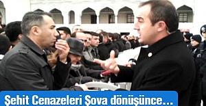 Şehit Cenazeleri Şova Dönüşünce Yakınları Açıkta kalıyor