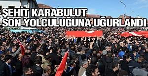 Şehit Karabulut Akşehir'de Son Yolculuğuna Uğurlandı