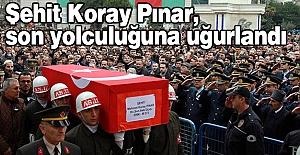 Şehit Pınar, son yolculuğuna uğurlandı