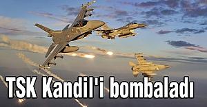 TSK Teröristleri Bombaladı