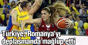 Türkiye, Romanya'yı deplasmanda mağlup etti