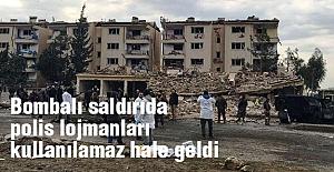 Bombalı Saldırıda Polis Lojmanları Bu hale Geldi