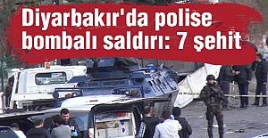 Diyarbakır'da 7 şehit 23 yaralı...