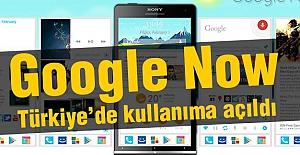 Google Now kullanıma hazır
