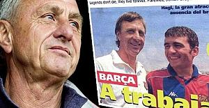 Hagi'den Cruyff mesajı