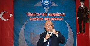 İsmail Koncuk; Samsun'da İstişare Toplantısında Konuştu