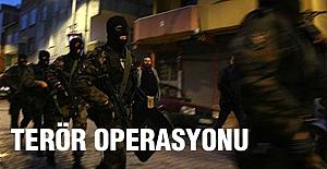 İstanbul'da Terör operasyonu...