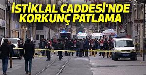 İstiklal Caddesi'nde Korkunç Patlama