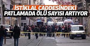 İstiklal caddesindeki Patlamada Ölü Sayısı Artıyor