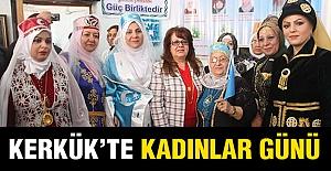 Kerkük'te Kadınlar Günü...