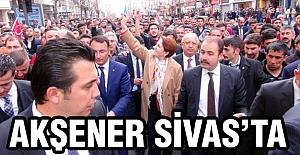 Meral Akşener'e Sivas'ta Yoğun İlgi