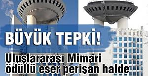 MHP Genel Merkez Binasının bakımsızlığına tepki