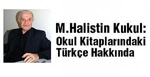 Okul Kitaplarındaki Türkçe Hakkında