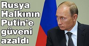 Putin'e güveni azaldı