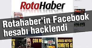 Rotahaber'in Facebook Hesabı Hacklendi.