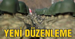 Türk Silahlı Kuvvetlerinde yeni düzenleme