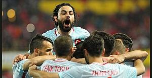Türkiye, Viyana'dan da 2-1'lik zaferle dönüyor
