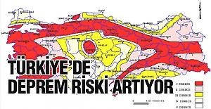 Türkiye'de deprem riski artıyor