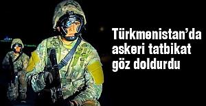 Türkmenistan'da tatbikat göz doldurdu