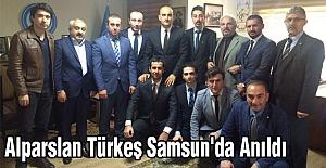 Alparslan Türkeş Samsun'da Anıldı
