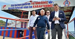 Beşiktaş Başkanı Fikret Orman'dan Altınordu'ya ziyaret
