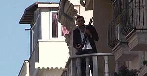 Kumkapı'da silahlı eylem