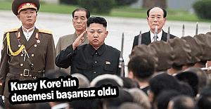 Kuzey Kore tekrar başarısız oldu