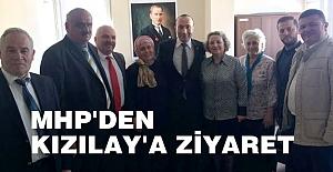 MHP'DEN KIZILAY'A ZİYARET