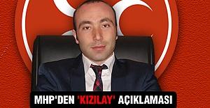MHP'DEN 'KIZILAY' AÇIKLAMASI