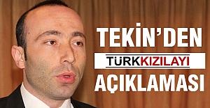 MHP İl Başkanı Taner Tekin'den 'Kızılay' açıklaması