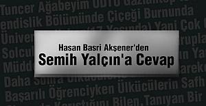 MHP'li Semih Yalçına Cevap!