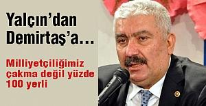 MHP'li Yalçın'dan Demirtaş'a...