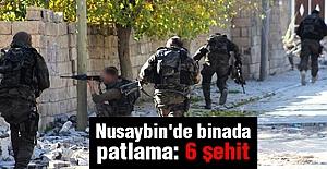 Nusaybin'de Binada Patlamada 6 Asker Şehit Oldu!