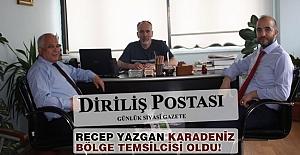 Recep Yazgan 'Diriliş Postası' Karadeniz Bölge Temsilcisi Oldu
