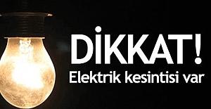 Samsun'da Elektrik Kesintisi...