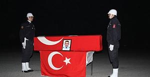Şehit;  polis memuru memleketine uğurlandı