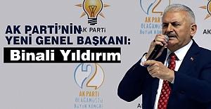 AK Parti Genel Başkanı Binali Yıldırım Oldu