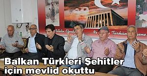 Balkan Türklerinden Şehitlere mevlid