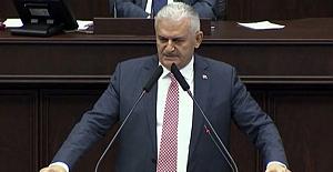 Binali Yıldırım ilk kez AK Parti Grubu'nda konuştu.